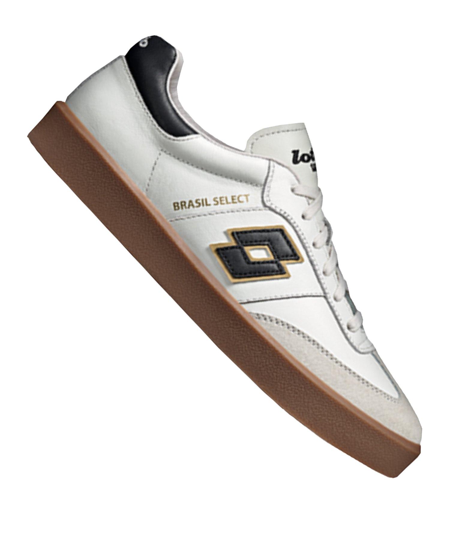 Lotto Brasil Select Sneaker Weiss F1I5 - weiss