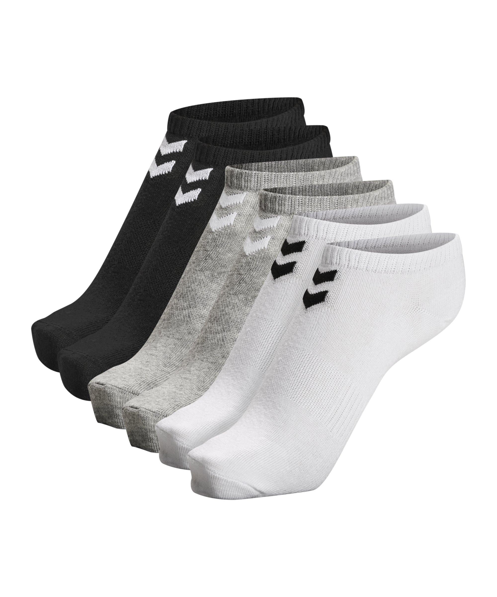 Hummel hmlchevron 6-Pack Ankle Socken F9034 - weiss