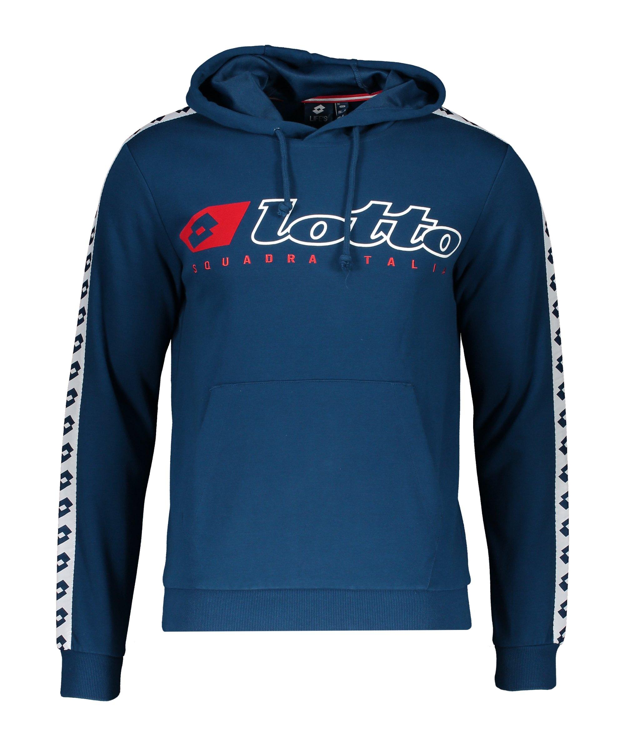 Lotto Athletica Due Hoody Blau F6OC - blau