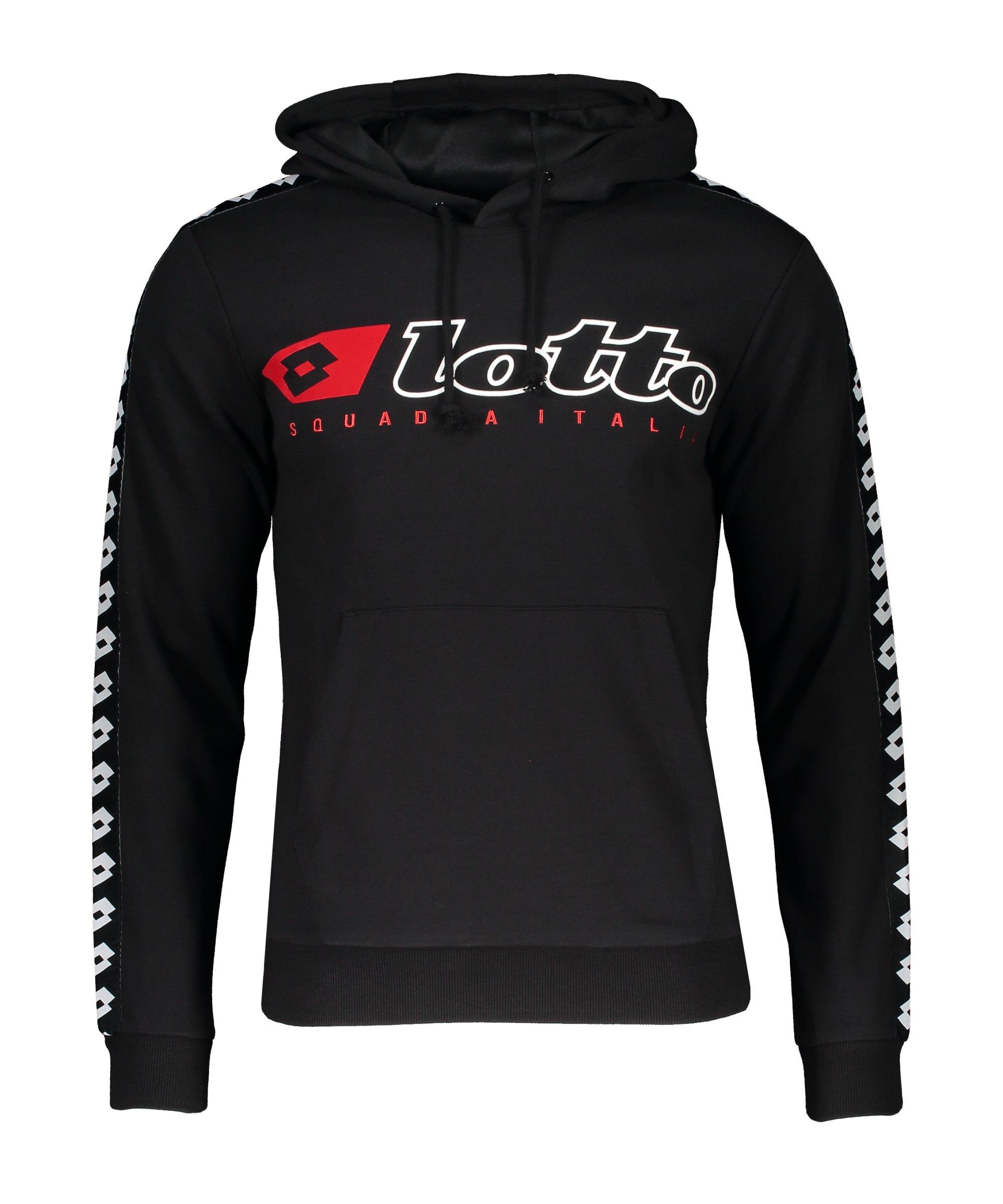 Lotto Athletica Due Hoody Schwarz F1CL - schwarz