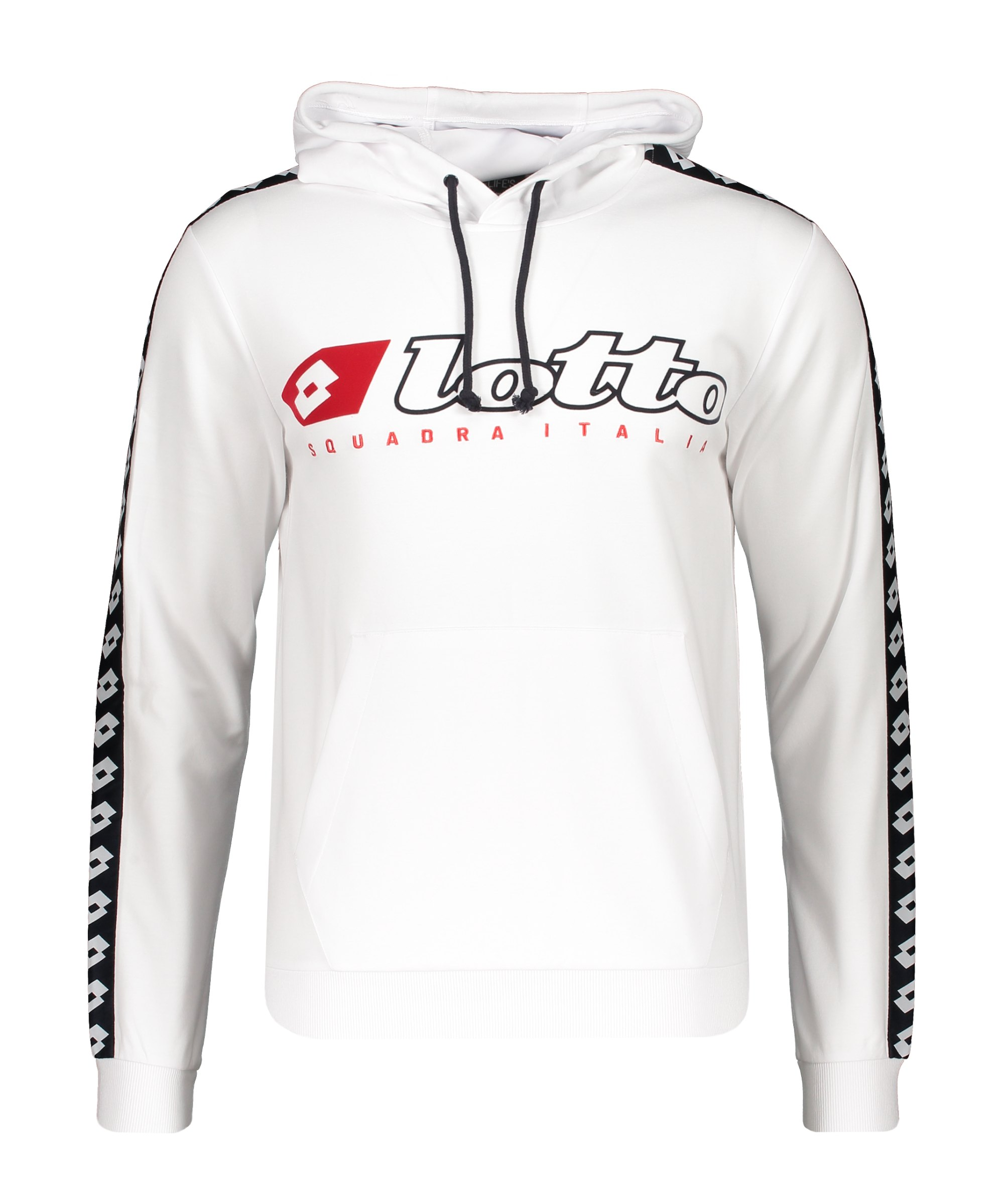 Lotto Athletica Due Hoody Weiss F0F1 - weiss