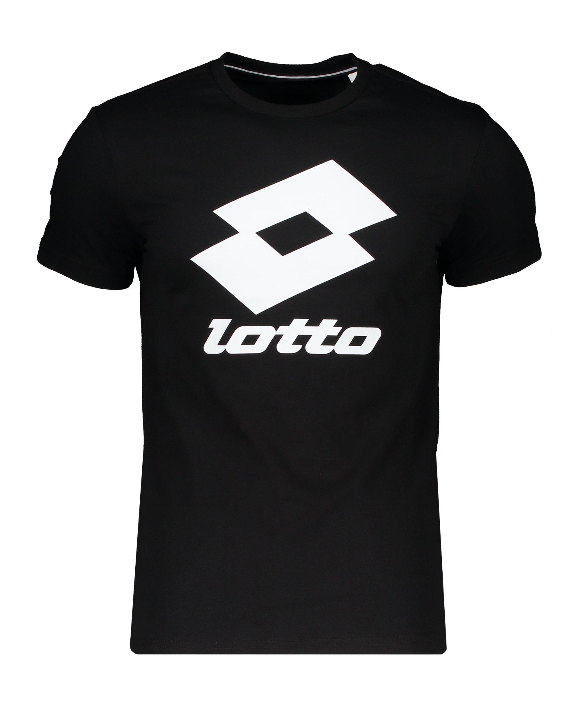 Lotto Smart II T-Shirt Schwarz F1CL - schwarz