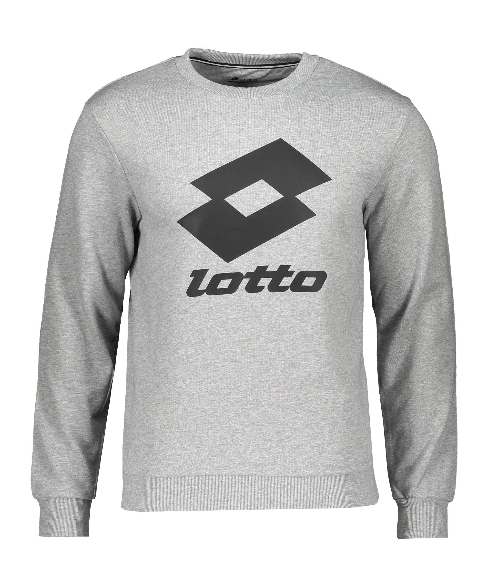 Lotto Smart II Sweatshirt Grau F1CW - grau