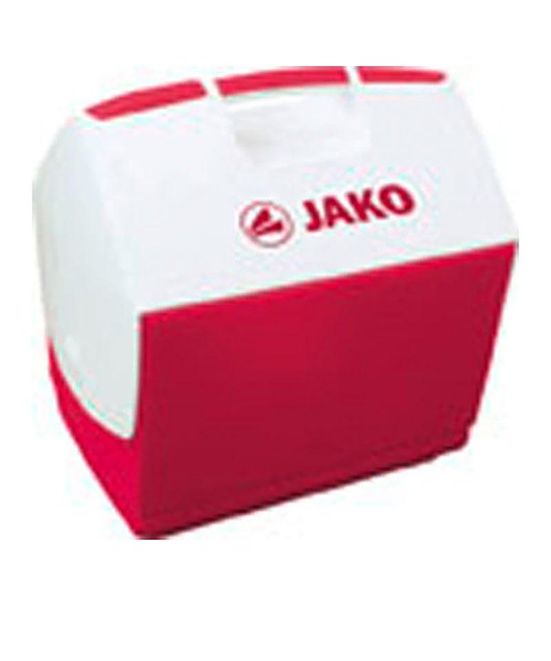 Kühlbox Jako Icebox [ 6 Liter ] Weiss Rot F05 - weiss