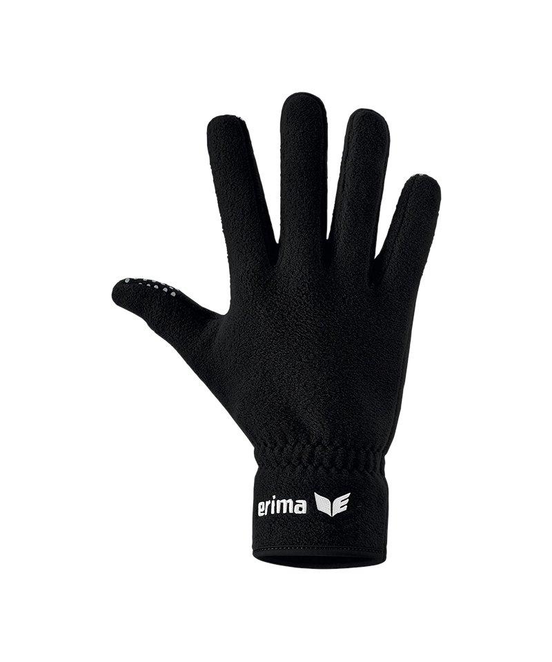 Erima Feldspielerhandschuh Schwarz - schwarz