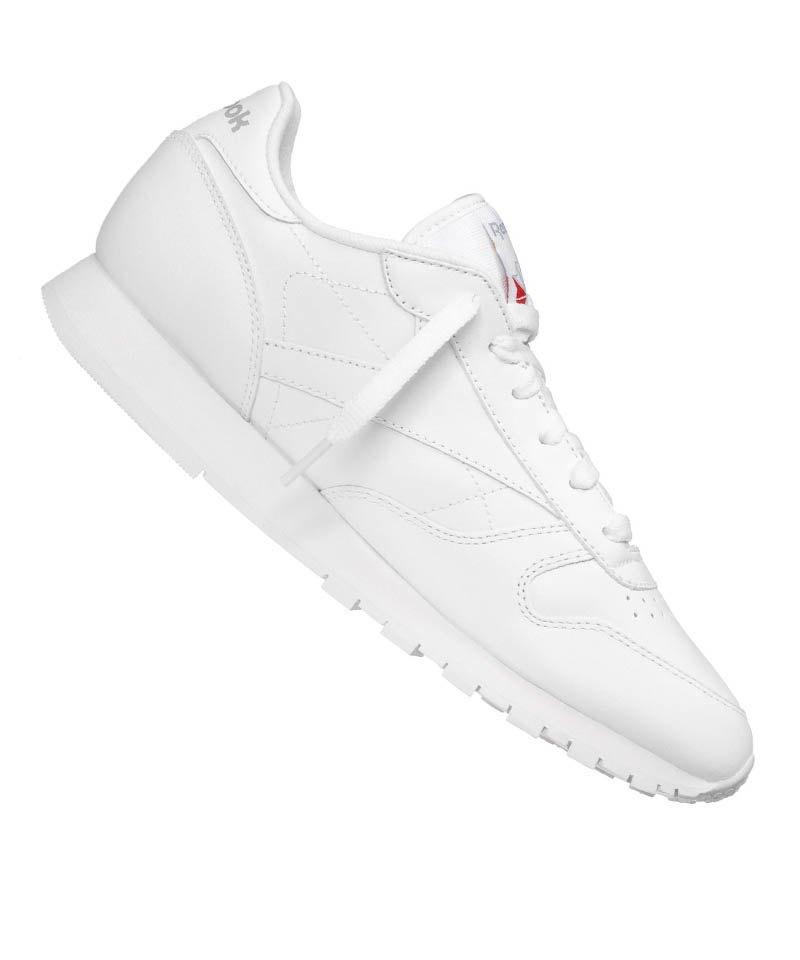 Reebok Sneaker Classic Leather Damen Weiss - weiss