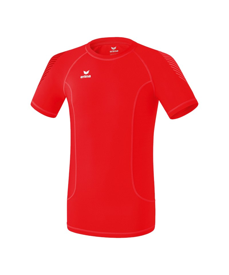Erima Elemental Shortsleeve Shirt Rot - rot