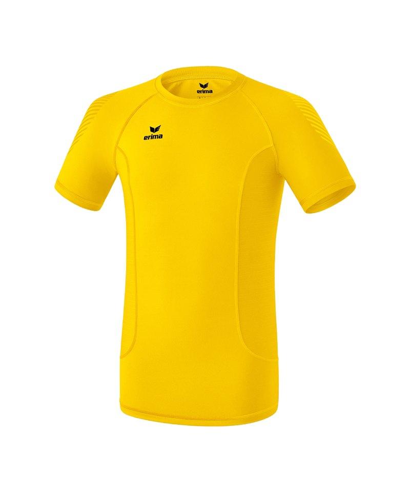 Erima Elemental Shortsleeve Shirt Gelb - gelb