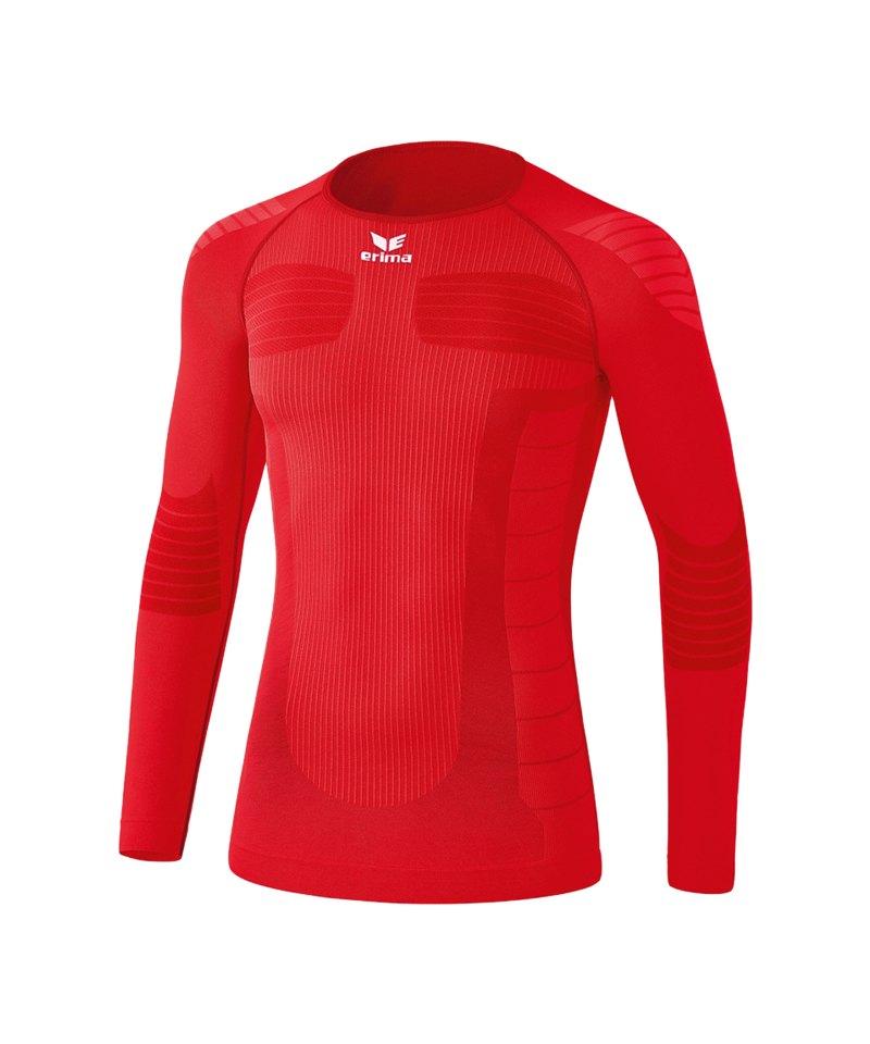 Erima Functional Longsleeve Shirt Kids Rot - rot