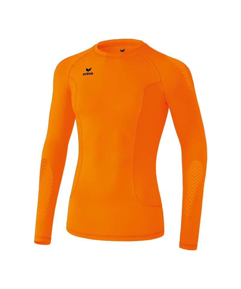 Erima Longsleeve Shirt Elemental Kinder Orange - orange
