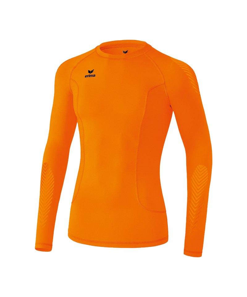 Erima Longsleeve Shirt Elemental Orange - orange