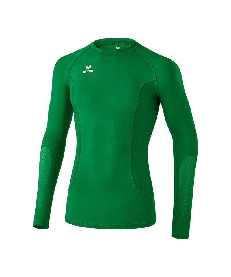 Erima Longsleeve Shirt Elemental Grün - gruen