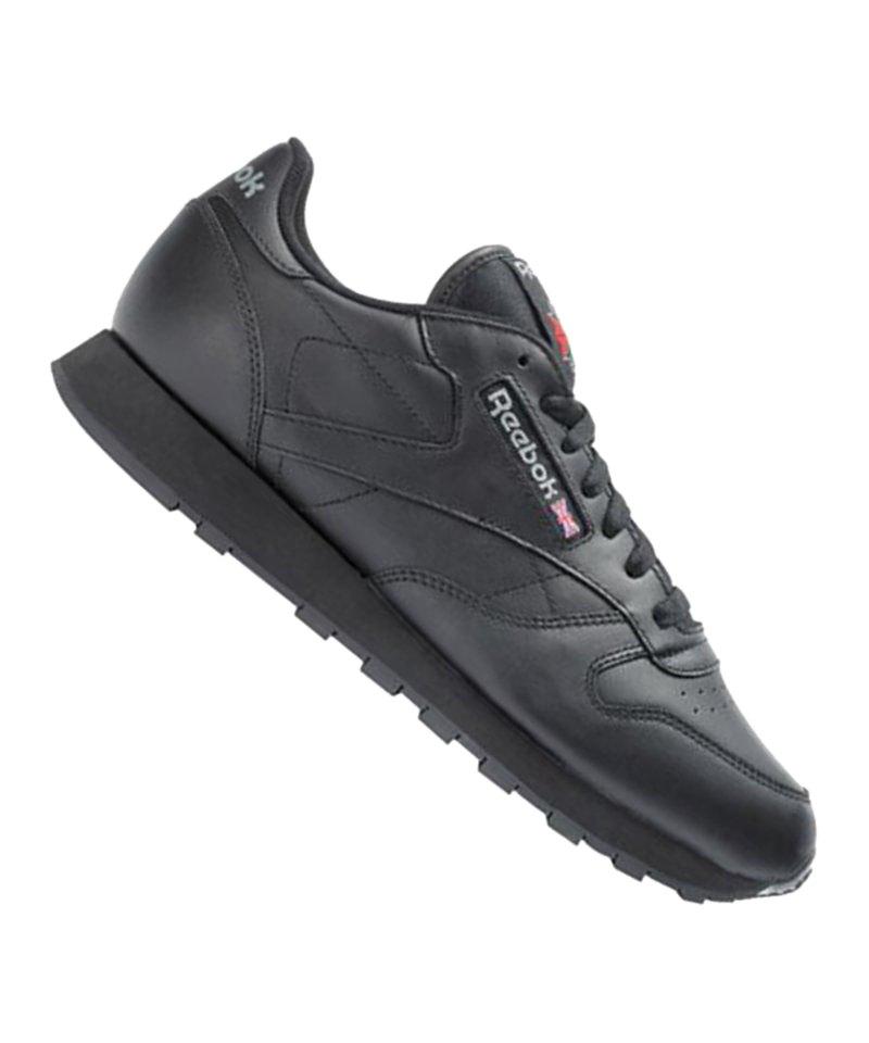 Reebok Sneaker Classic Leather Schwarz - schwarz