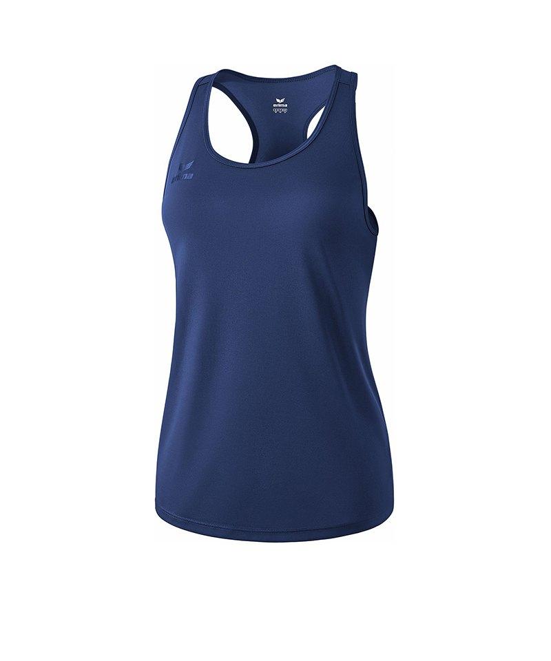 Erima Casual Basics Tanktop Damen Blau - blau