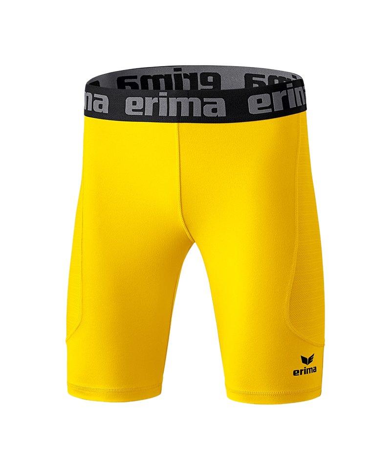 Erima Tight Elemental kurz Kinder Gelb - gelb
