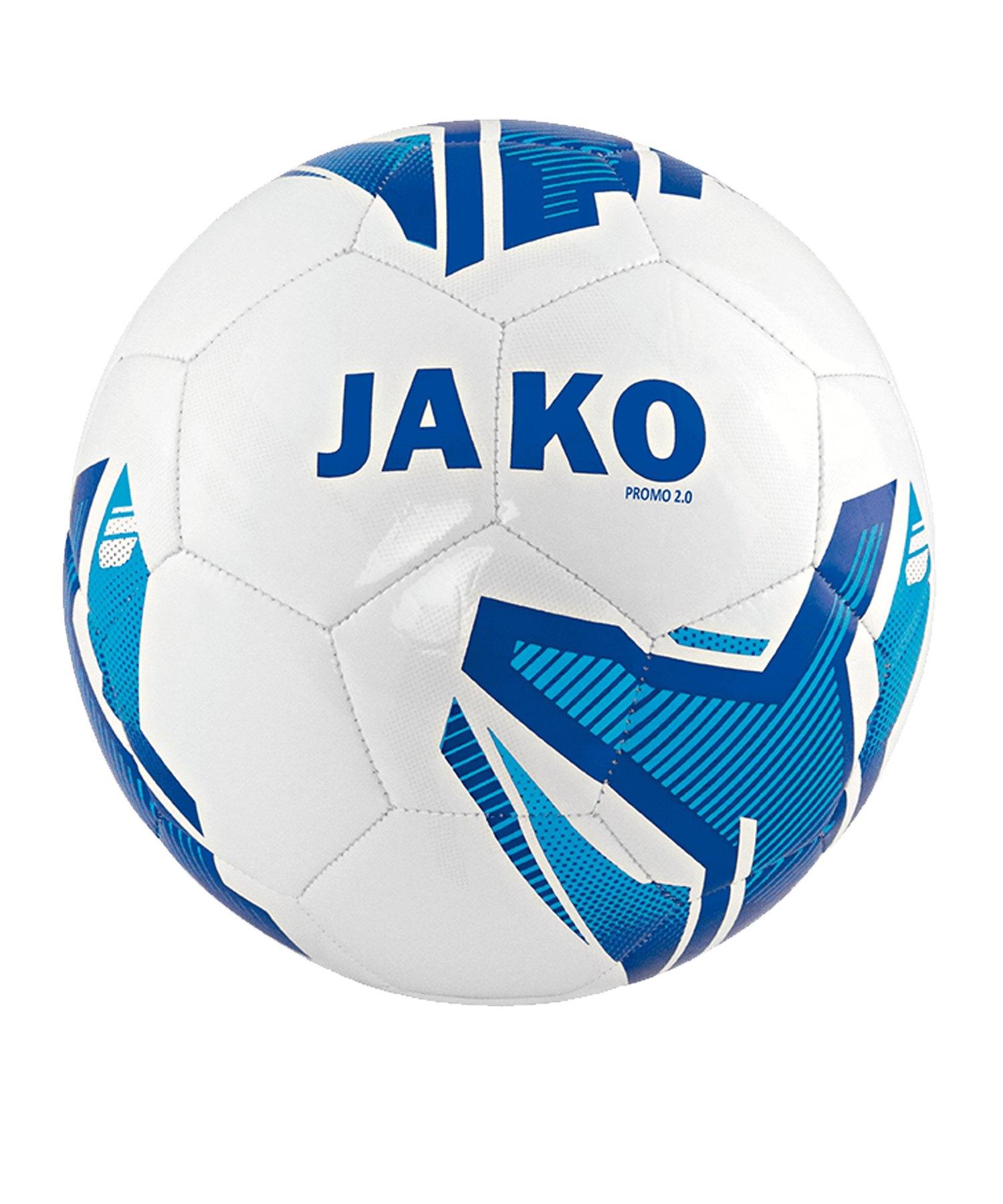 JAKO Promo 2.0 Trainingsball Weiss F04 - weiss