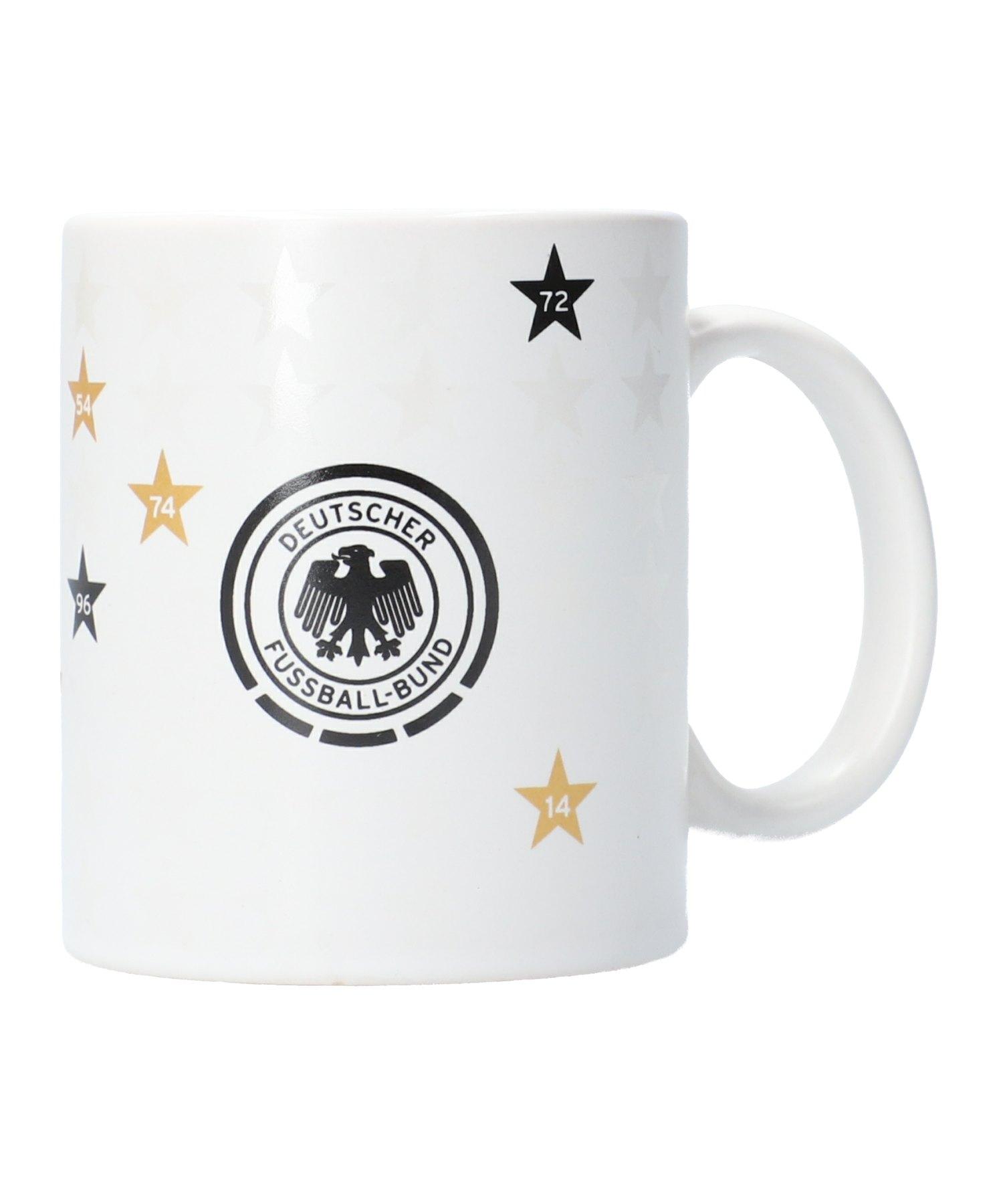 DFB Deutschland Erfolge Tasse Weiss - Weiss