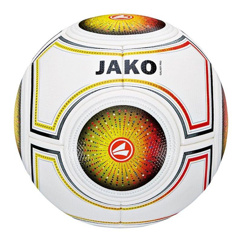 Jako Ball Galaxy Pro Weiss Gelb Orange F17 - weiss