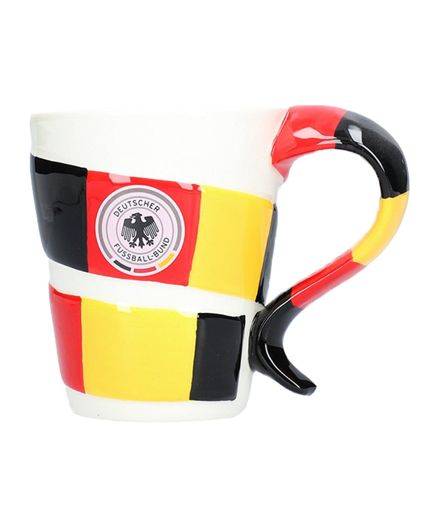 DFB Deutschland Schaltasse Schwarz Rot Gelb - Schwarz
