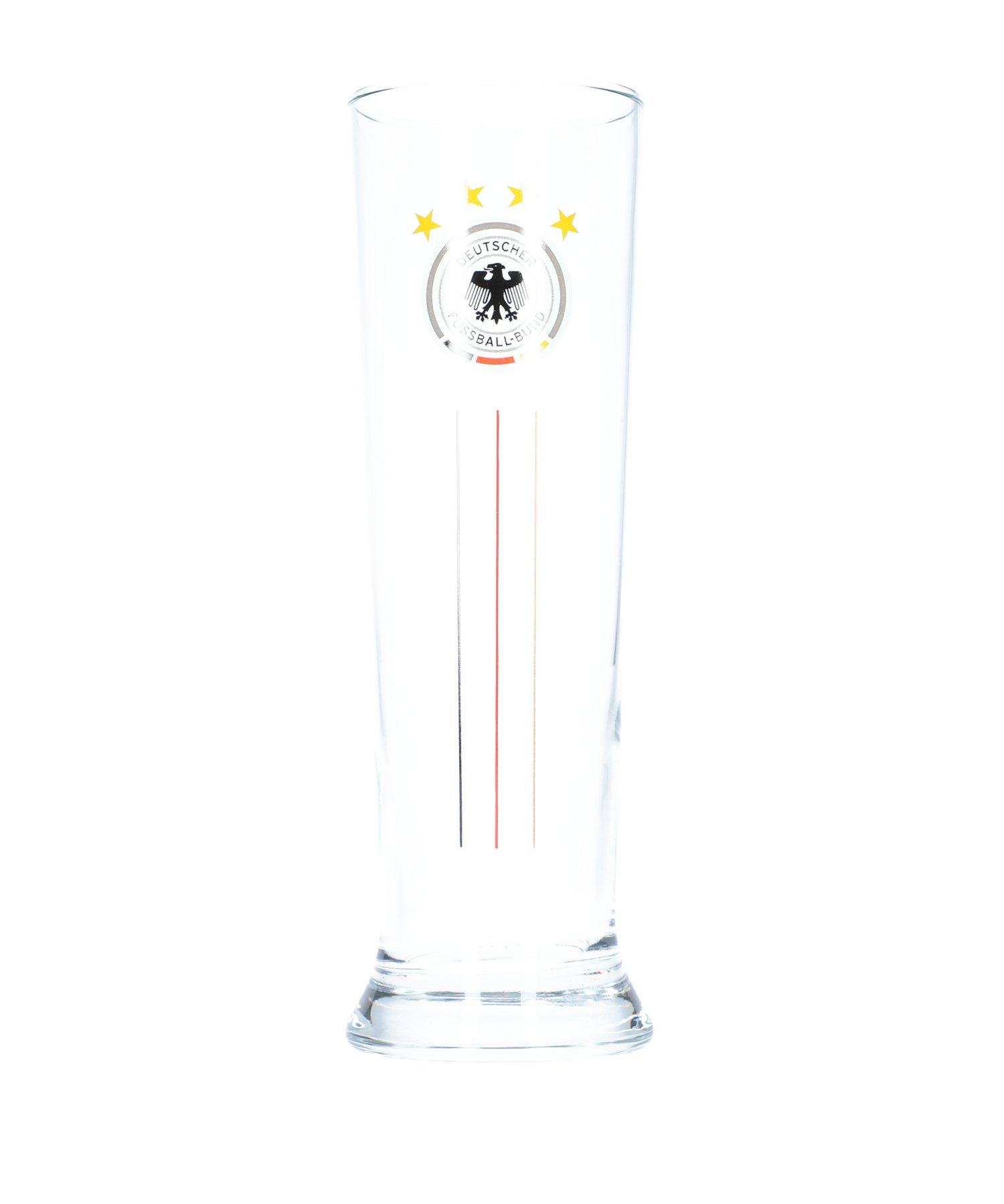 DFB Deutschland 2er Set Weizenbierglas Weiss - Weiss