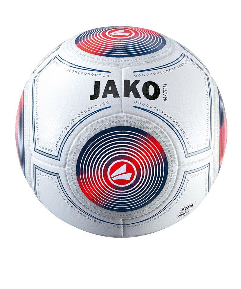 Jako Spielball Match Weiss Blau F17 - weiss