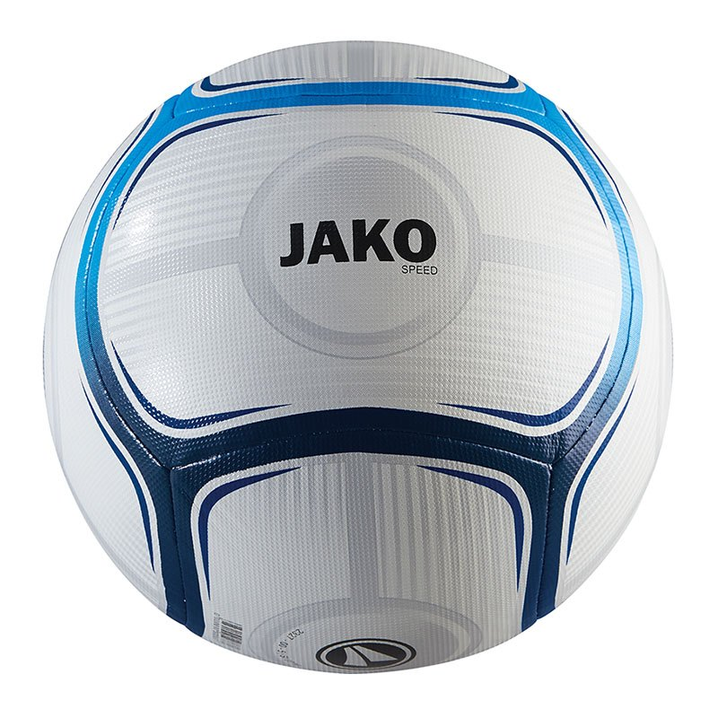 Jako Spielball Speed Weiss Blau F17 - weiss