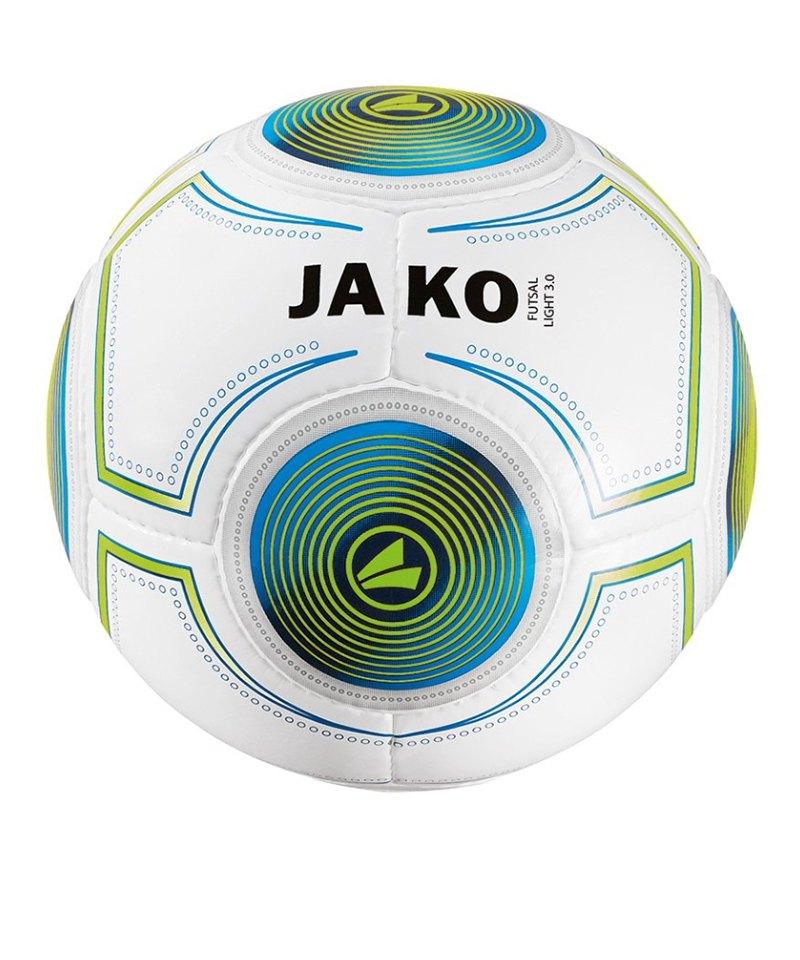 Jako Futsal Light 3.0 290g Gr.4 Fussball Weiss F18 - weiss