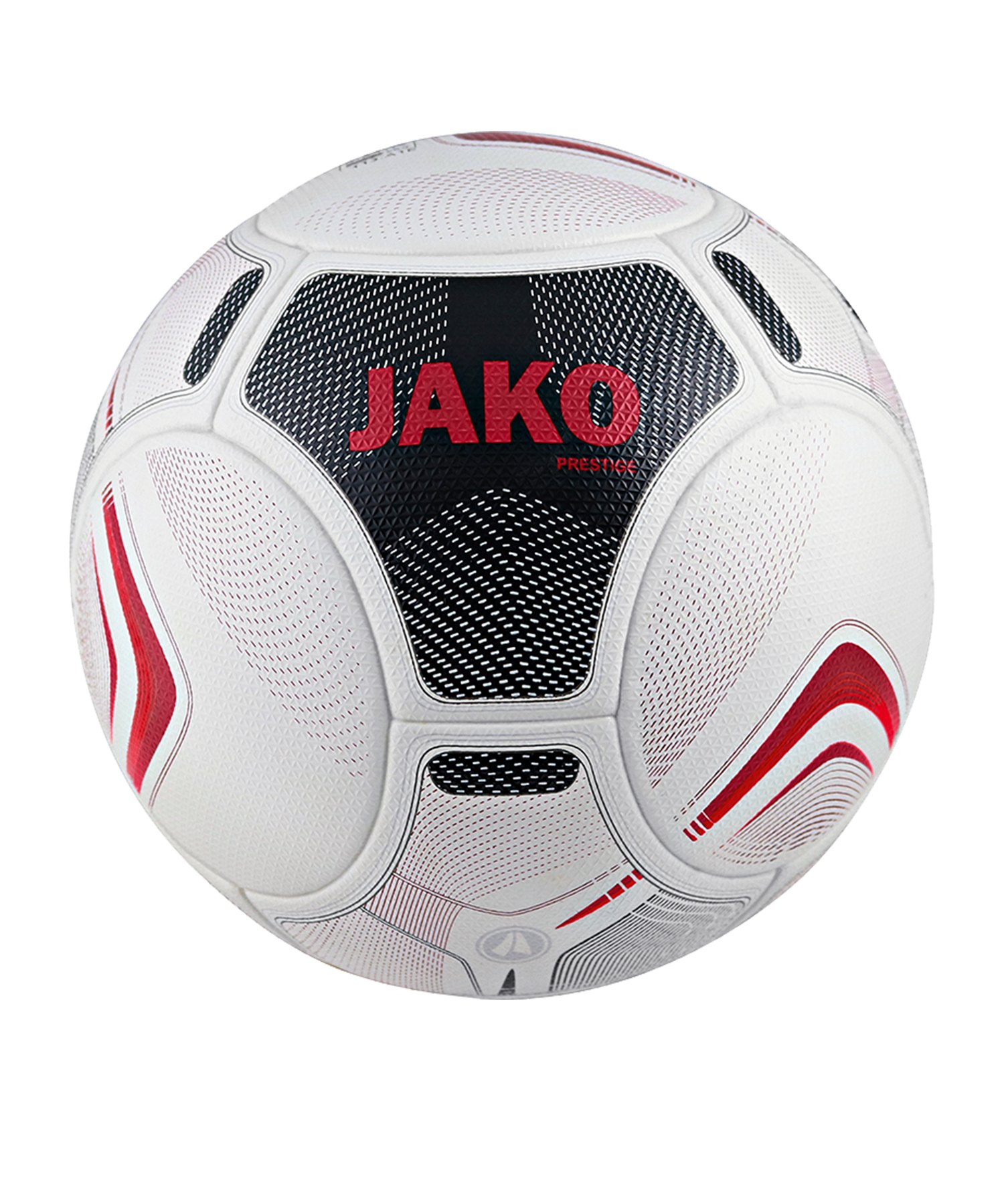 Jako Prestige Spielball Weiss Schwarz Rot F00 - Weiss
