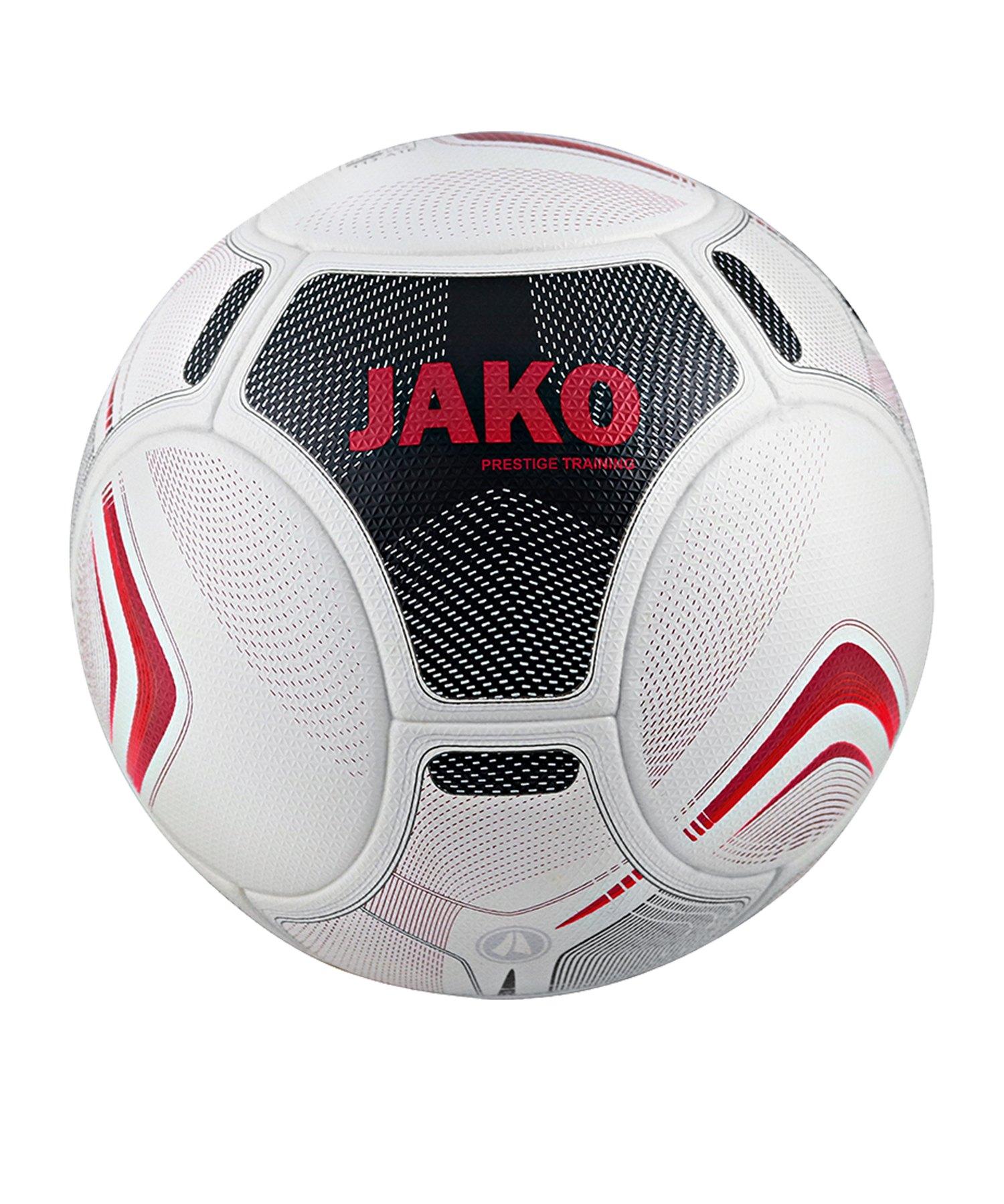 Jako Prestige Trainingsball Weiss Schwarz Rot F00 - weiss