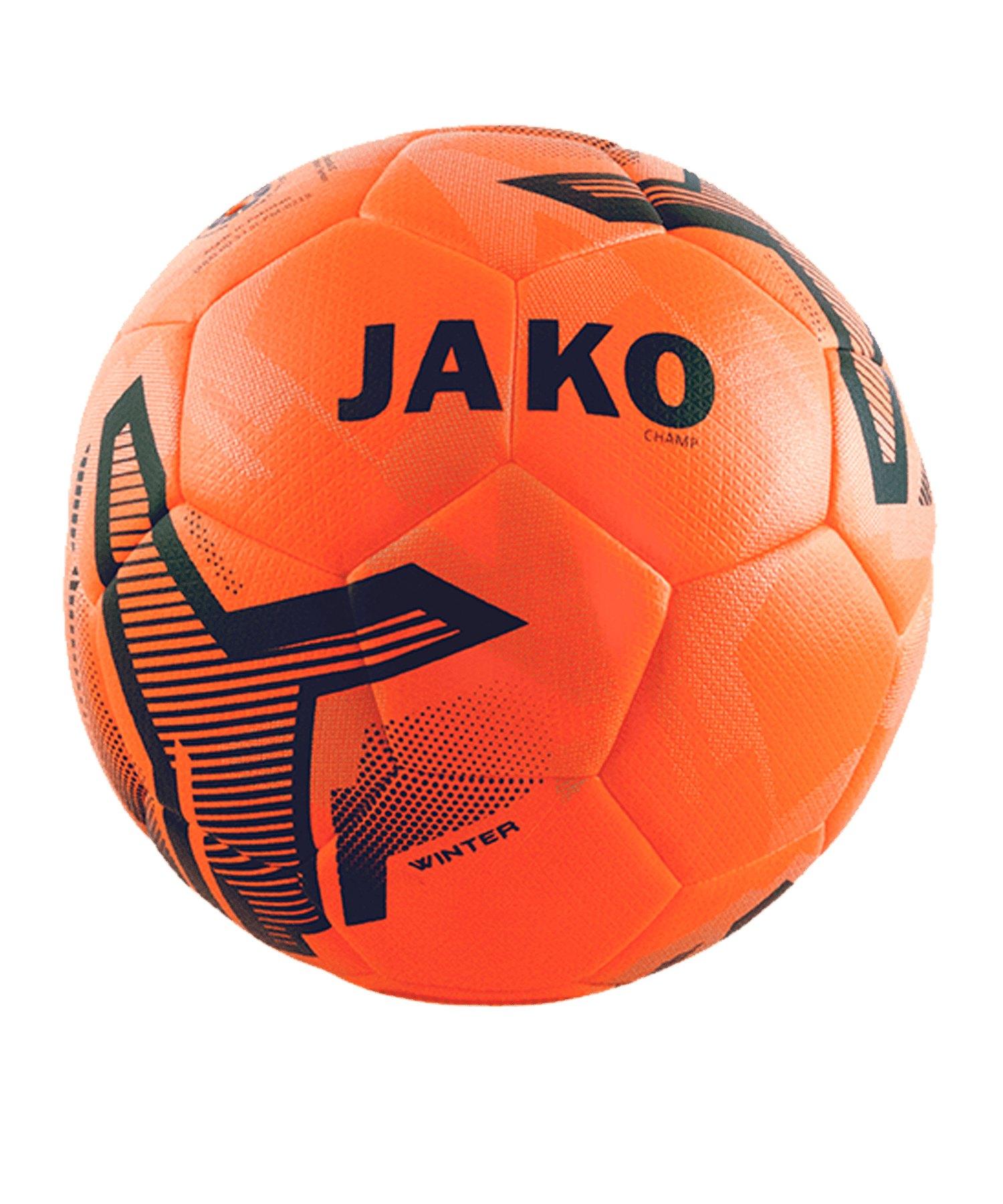 JAKO Ball Champ Winter Spielball Orange F19 - orange