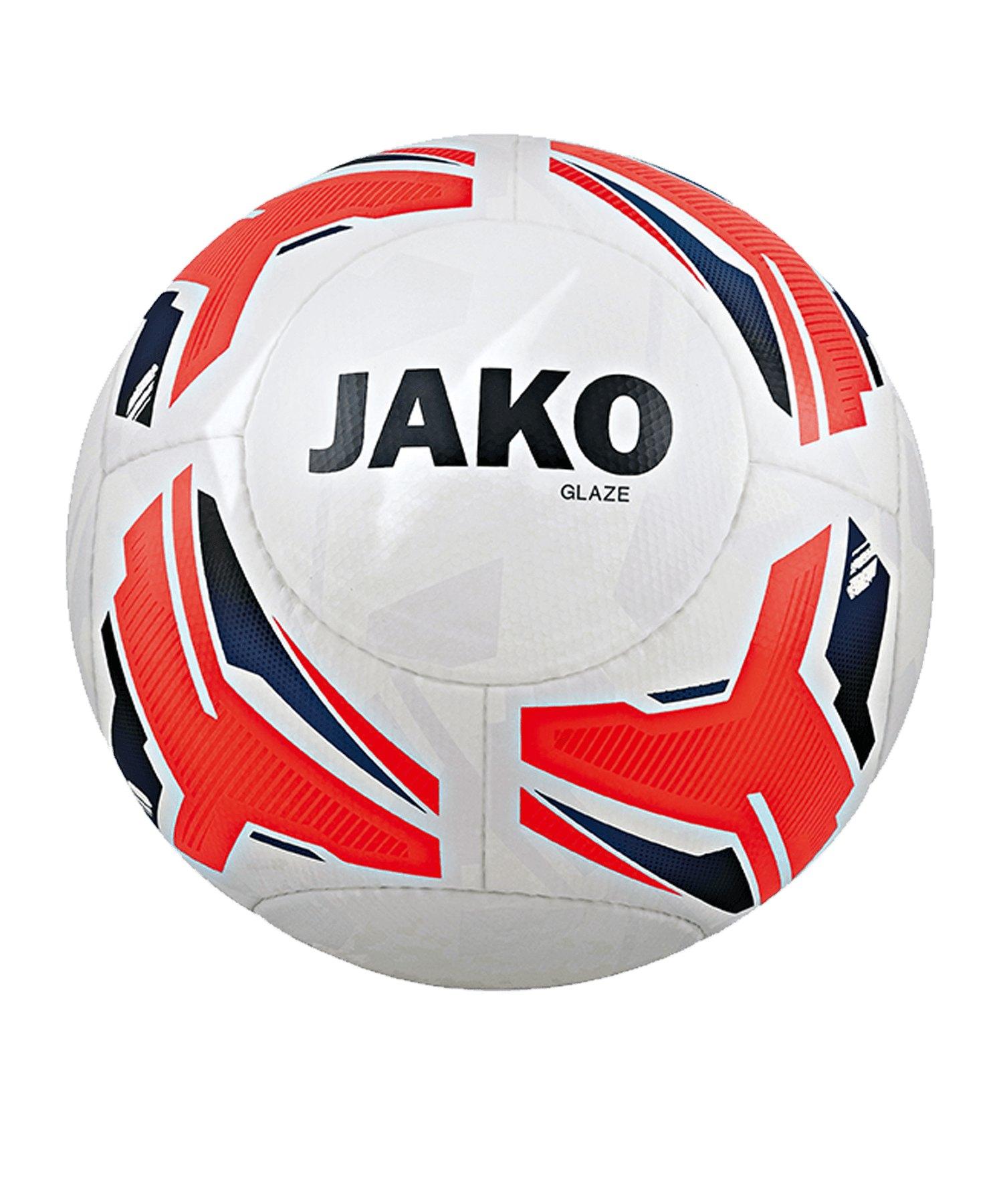 JAKO Glaze Trainingsball Weiss F00 - weiss