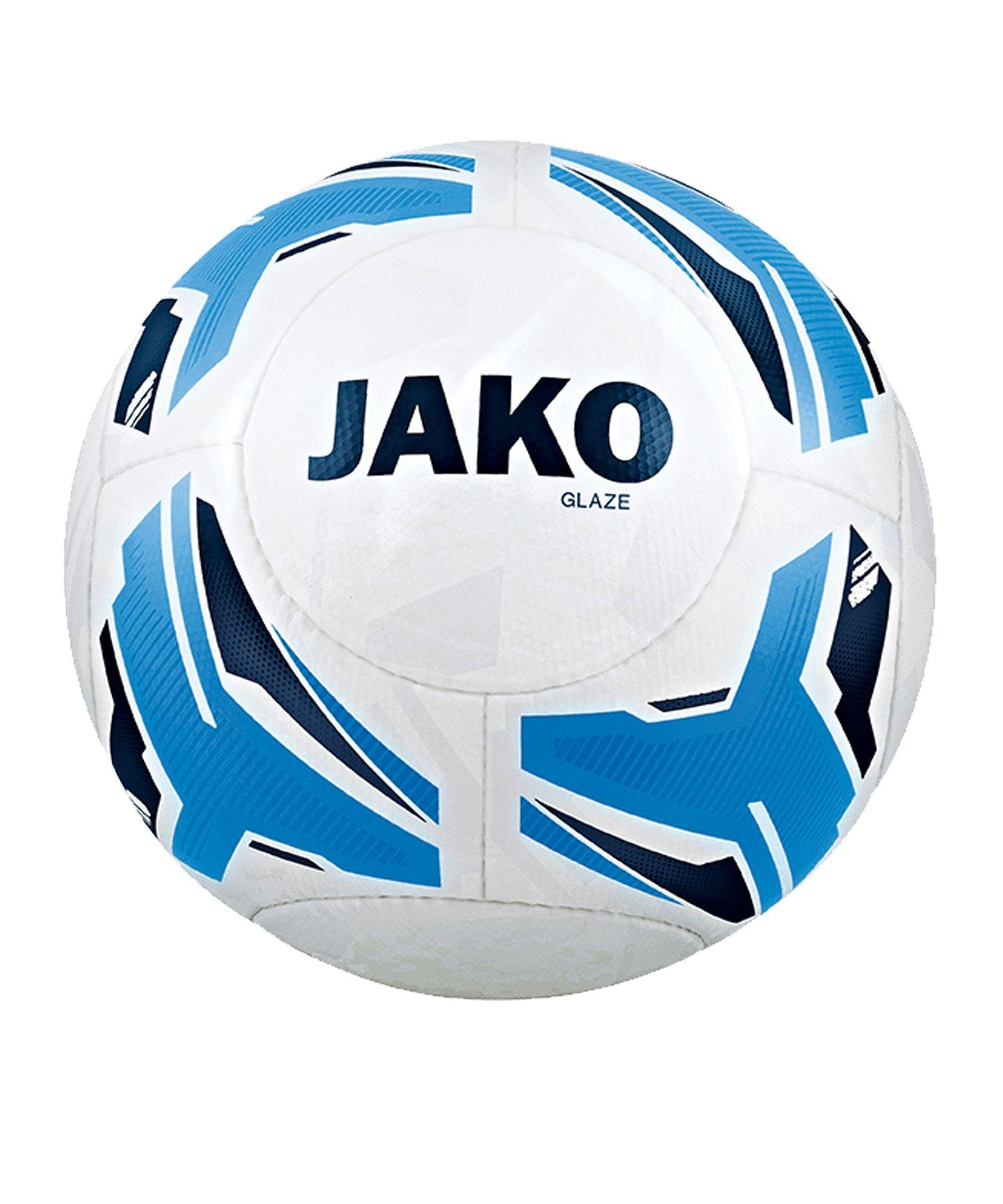 JAKO Glaze Trainingsball Weiss F45 - weiss