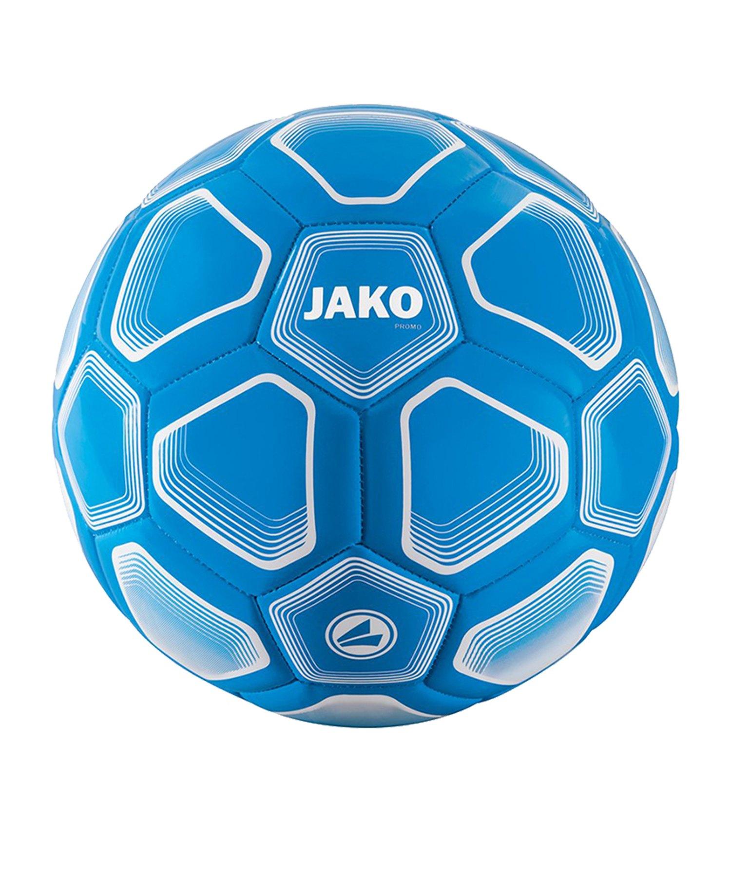 Jako Promo 32 Panel Trainingsball Blau F89 - blau