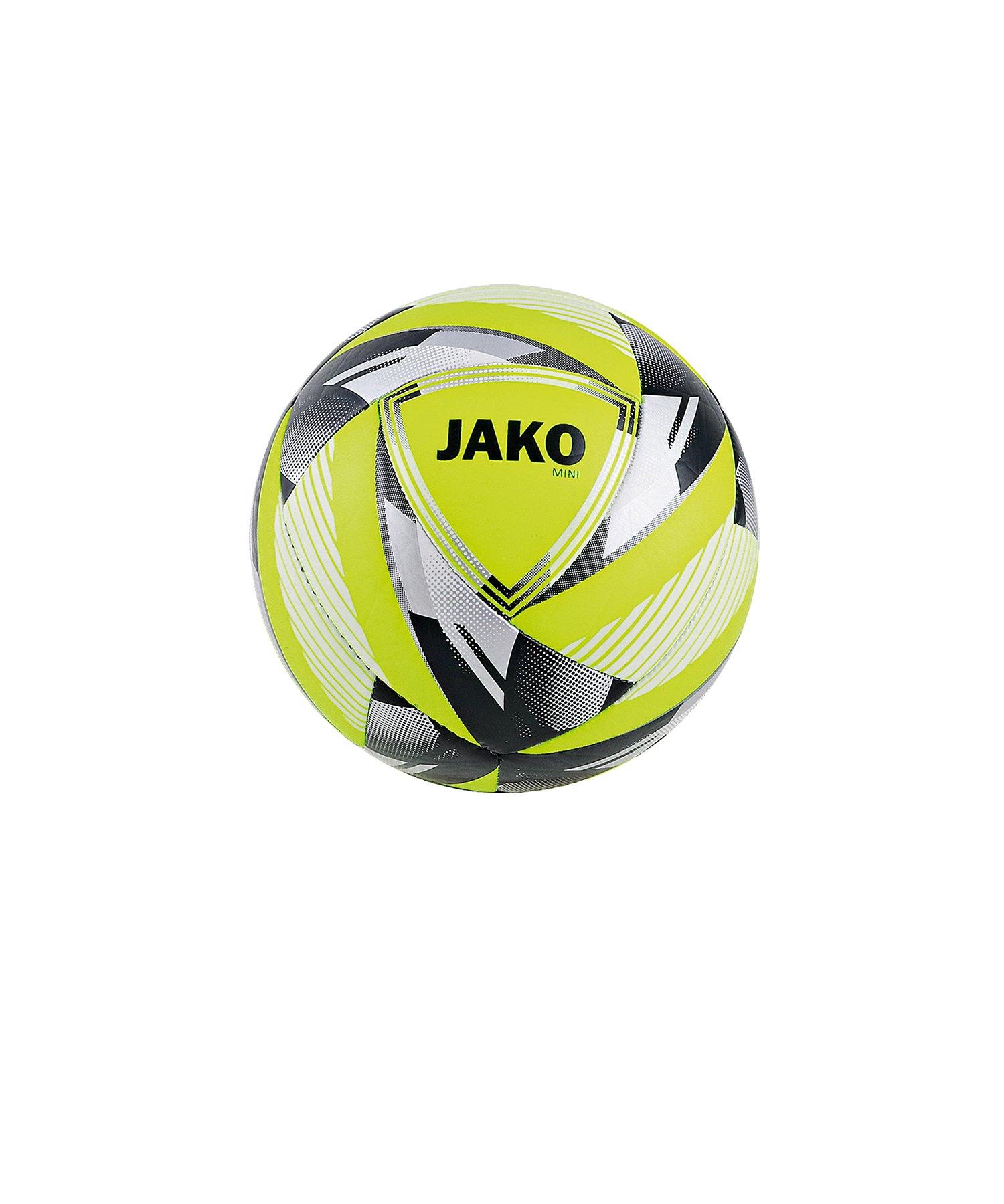 Jako Miniball Neon Gelb Silber F03 - Gelb
