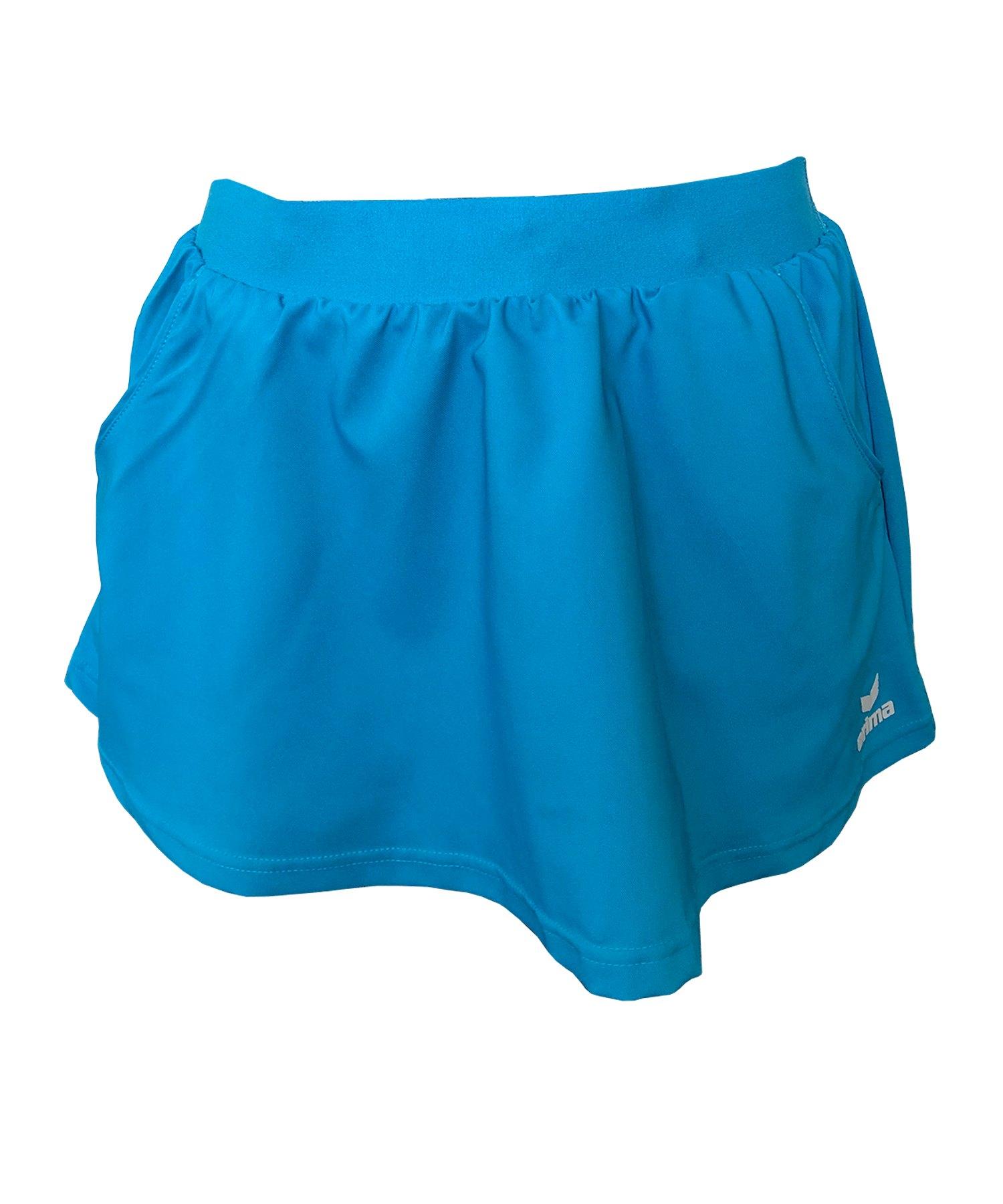 Erima Tennisrock Damen Blau F504 - blau