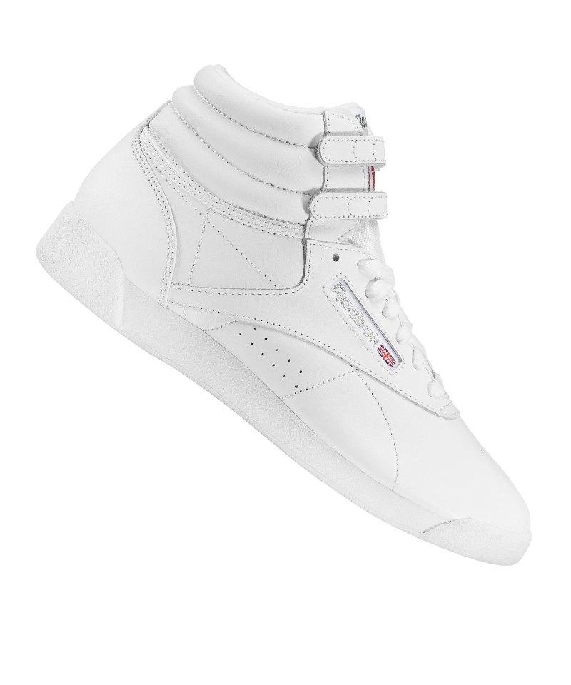 Reebok Freestyle Hi Sneaker Damen Weiss - weiss