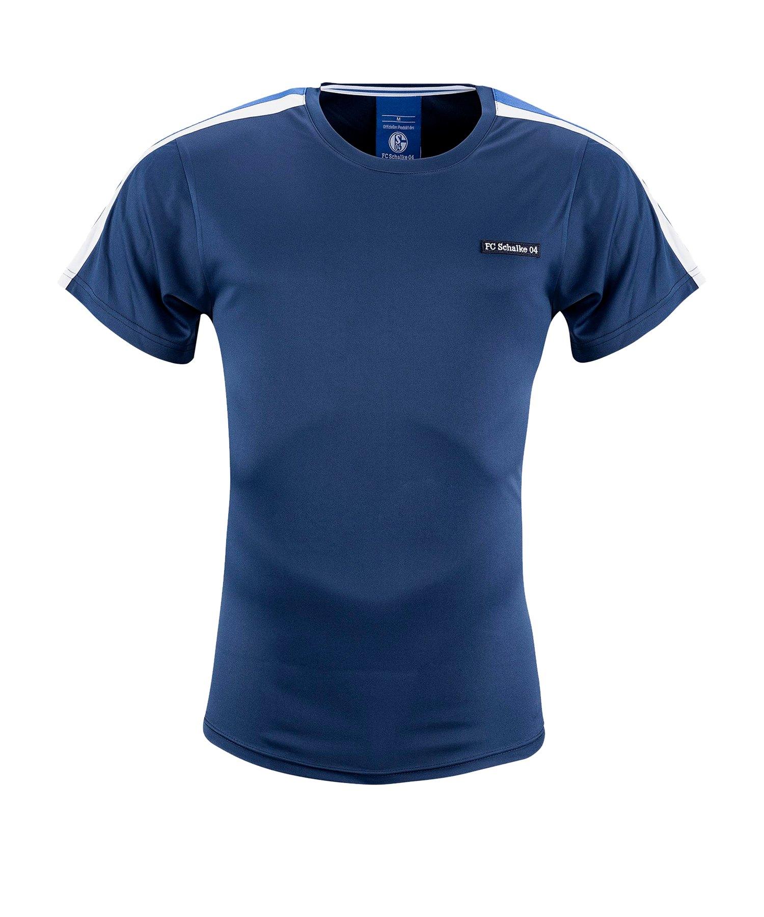 FC Schalke 04 T-Shirt Retro - blau