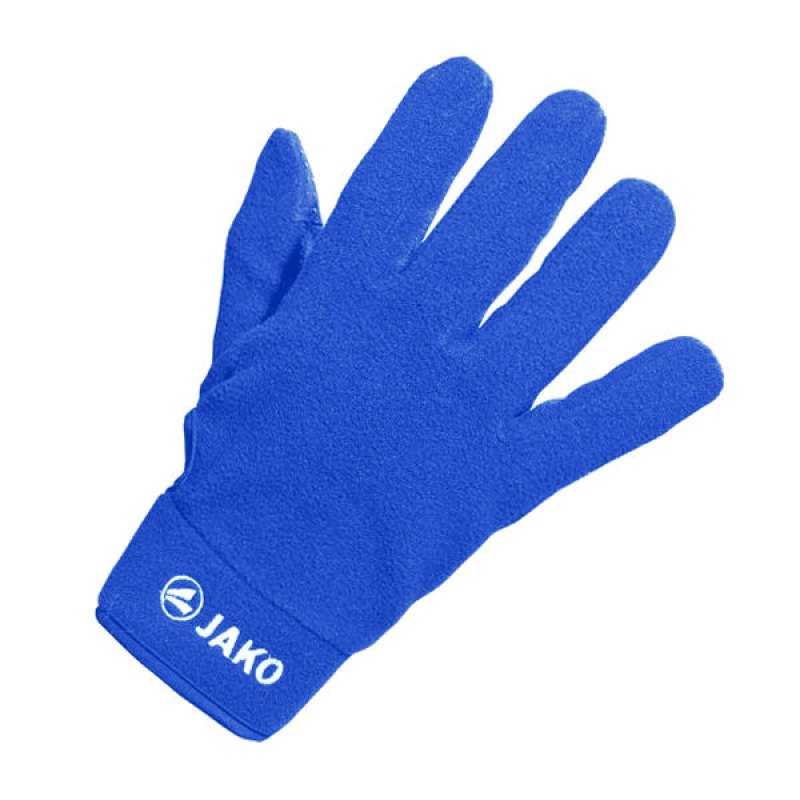 Jako Feldspielerhandschuh Micro Fleece Blau F04 - blau