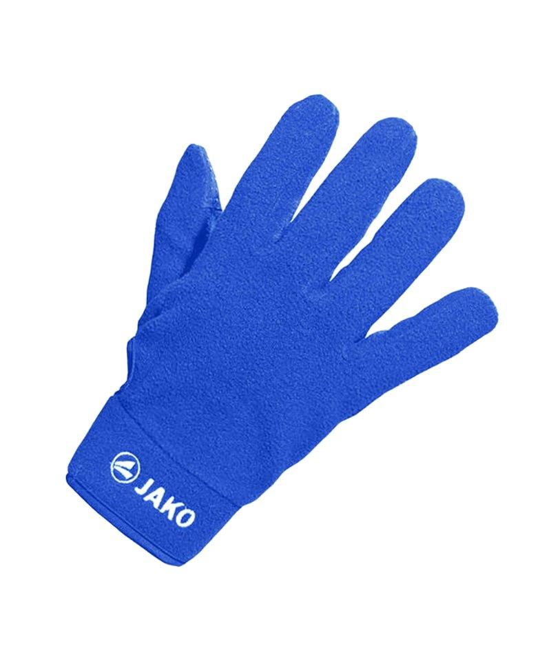 Jako Feldspielerhandschuh Micro Fleece Kinder F04 - blau