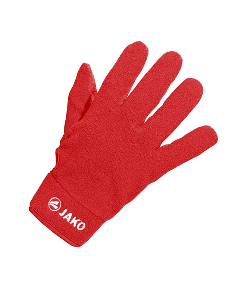 Jako Feldspielerhandschuh Micro Fleece Rot F01 - rot