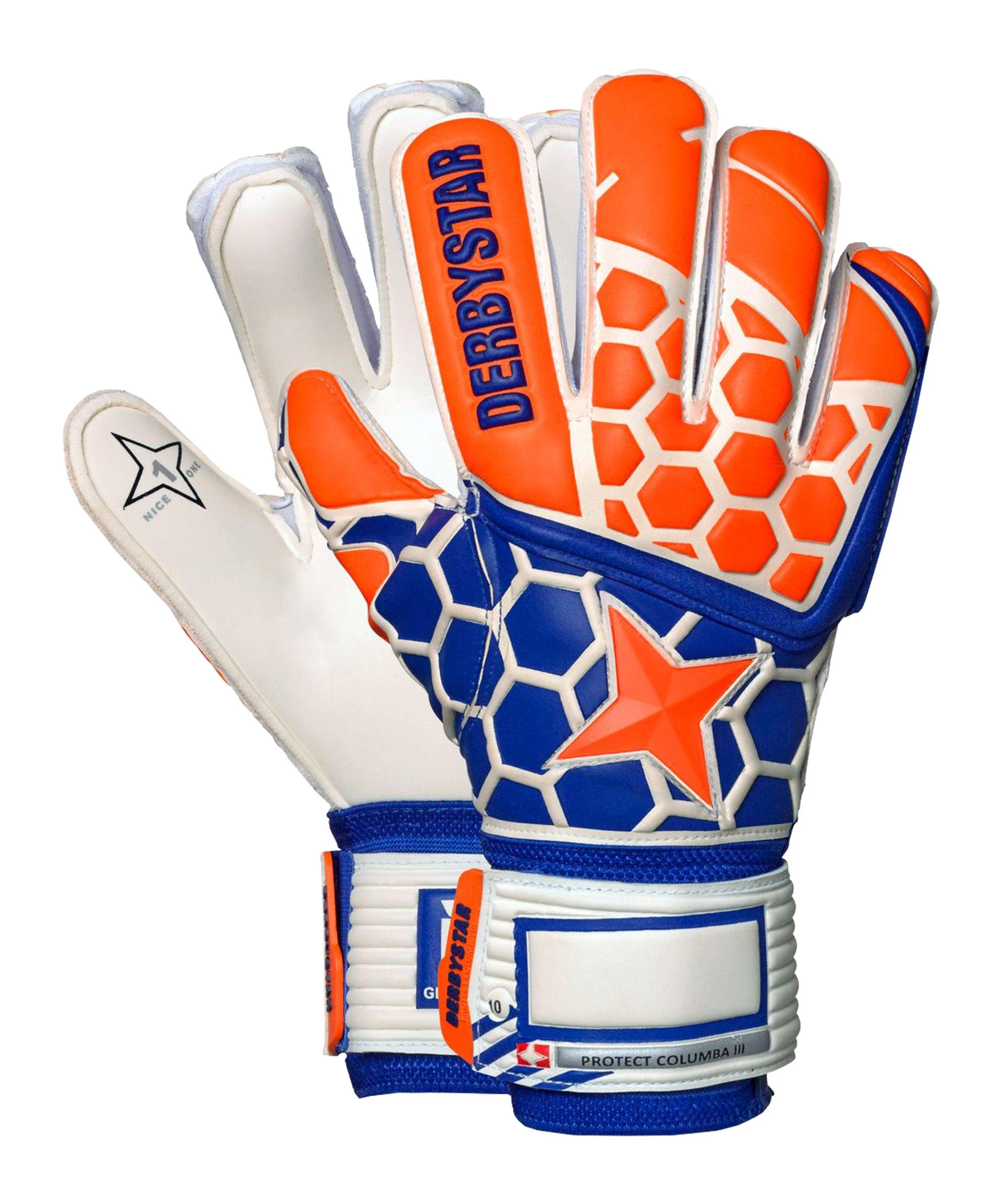 Derbystar Protect Columba III TW-Handschuh Orange - orange