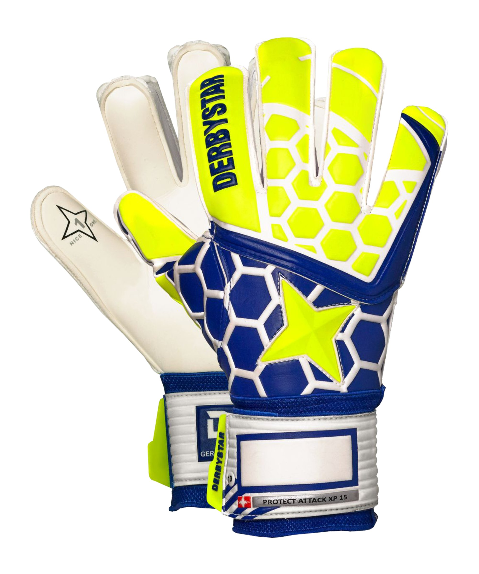 Derbystar Protect Attack XP15 TW-Handschuh F000 - gelb