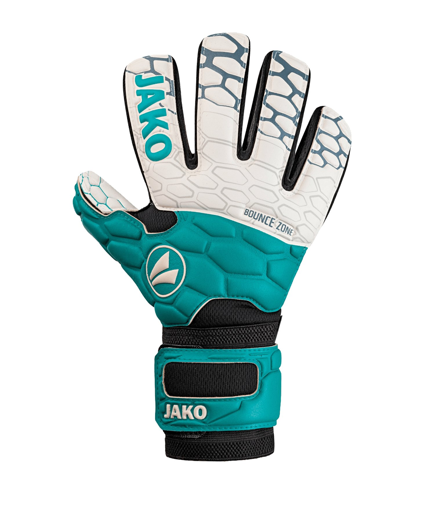 JAKO TW-Handschuh Prestige SuperSoft RC Türkis F24 - blau