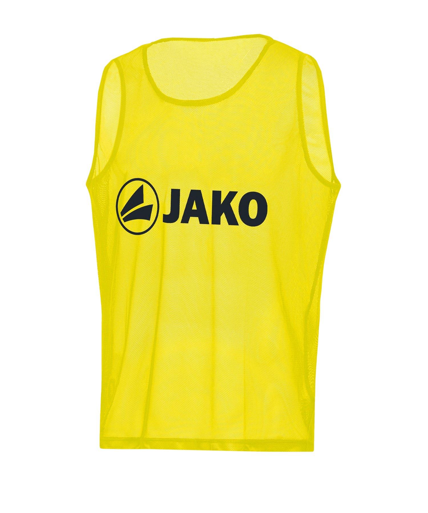 JAKO Classic 2.0 Kennzeichnungshemd Gelb F03 - gelb