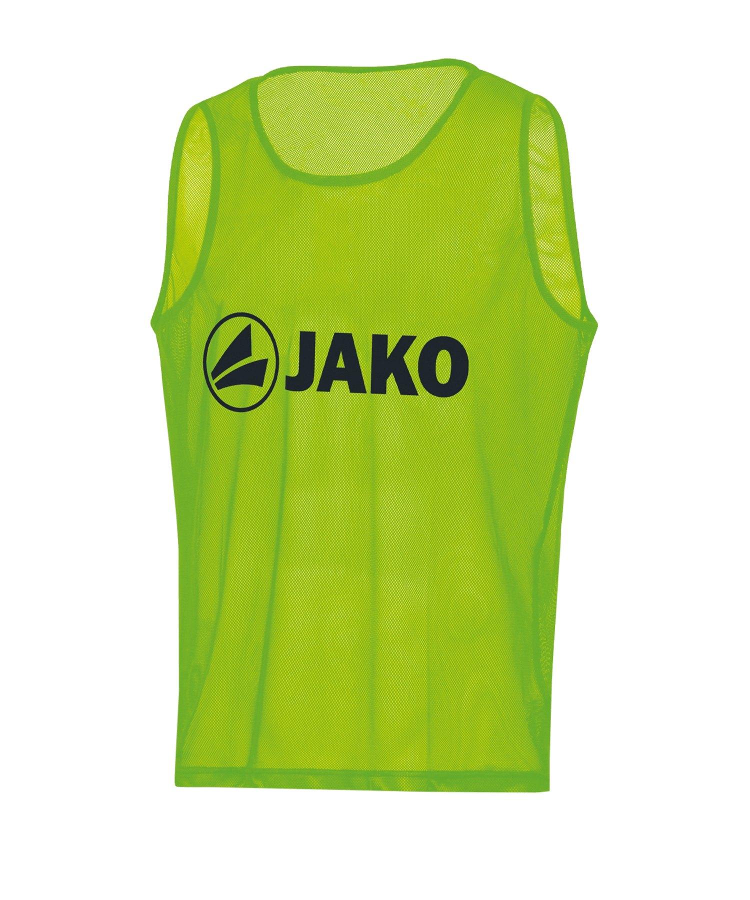 JAKO Classic 2.0 Kennzeichnungshemd Grün F02 - Gruen