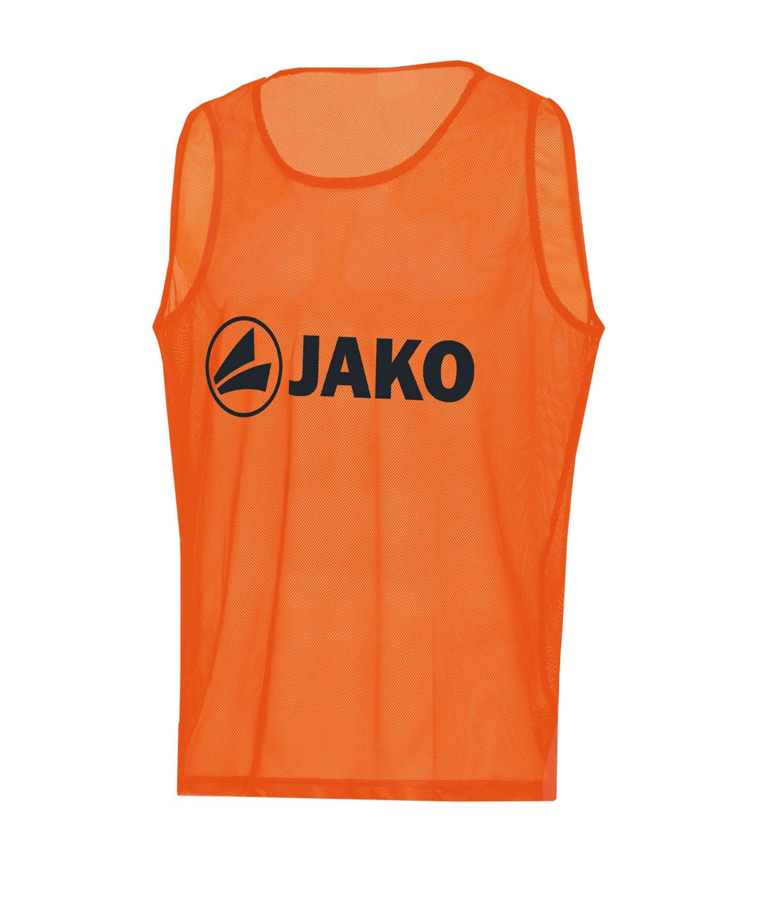 JAKO Classic 2.0 Kennzeichnungshemd Orange F19 - orange