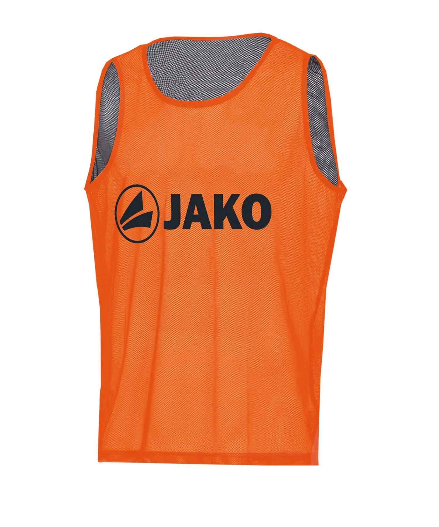 JAKO Reverse Kennzeichnungshemd Orange F19 - orange