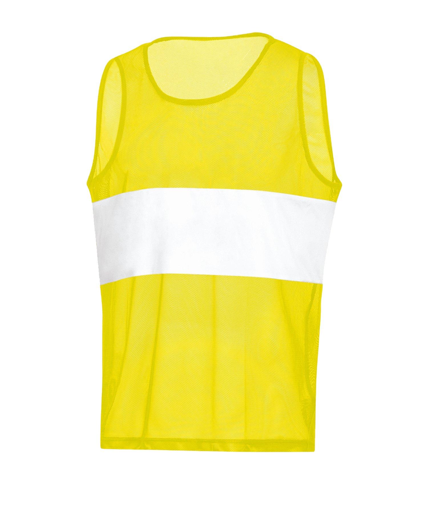 JAKO Stripe Kennzeichnungshemd Gelb F03 - gelb