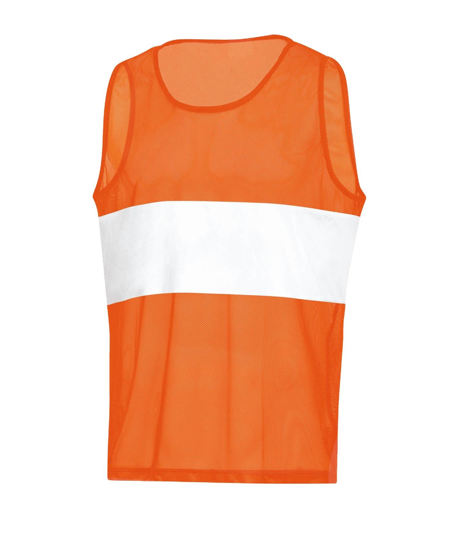 JAKO Stripe Kennzeichnungshemd Orange F19 - orange