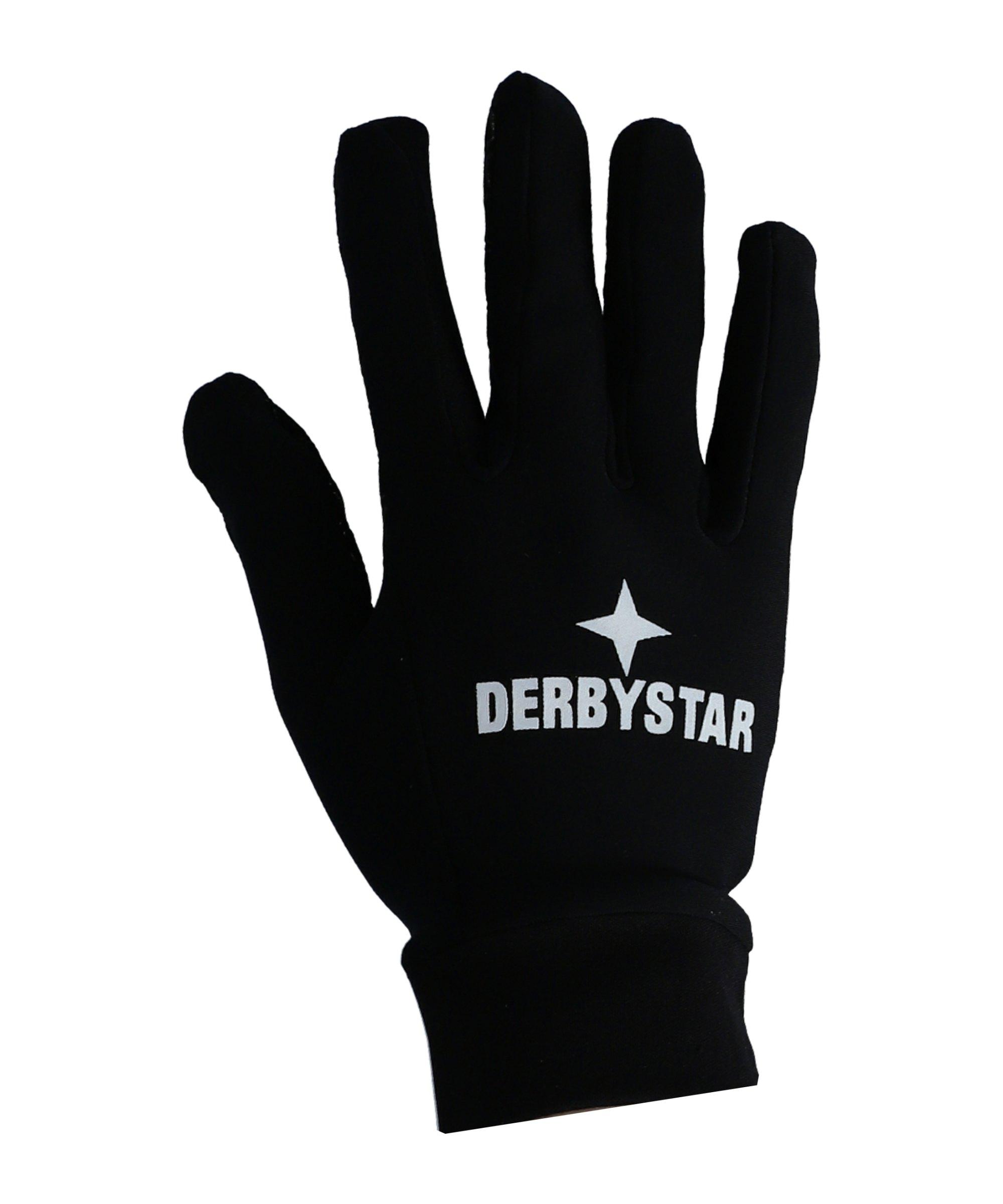 Derbystar Spielerhandschuhe v20 Schwarz F200 - schwarz